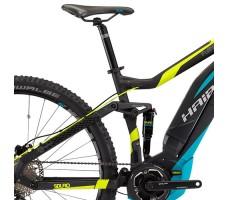 фото седла и педалей электровелосипеда Haibike SDURO FullNine 5.0 400Wh 10-Sp Deore Black