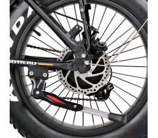 колесо заднее электрофэтбайка Osota Cayman 500W Black