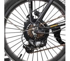 колесо заднее электрофэтбайка Osota Cayman DUAL Black