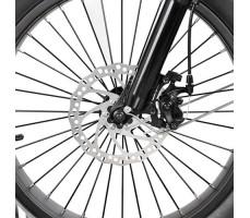 переднее колесо электрофэтбайка Osota Cayman DUAL Black