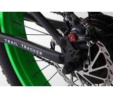 Фото вращающего механизма колеса электровелосипеда Pedego Trail Tracker Black-Green