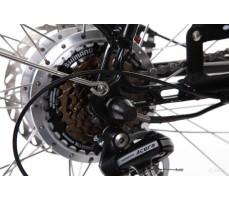 Фото заднего колеса электровелосипеда Pedego Interceptor Classic Black