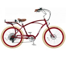 Электровелосипед Pedego Interceptor Classic Red