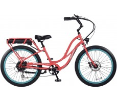 Электровелосипед Pedego Interceptor Step-Thru Coral