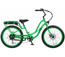 Электровелосипед Pedego Interceptor Step-Thru Green