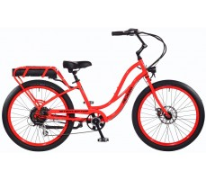 Электровелосипед Pedego Interceptor Step-Thru Red