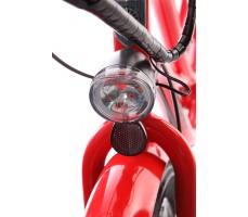 Фото переднего фонаря электровелосипеда Pedego Interceptor Classic Red