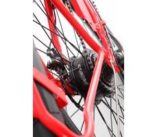 Фото заднего колеса электровелосипеда Pedego Interceptor Classic Red