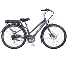 Электровелосипед Pedego City Commuter Steel-Blue