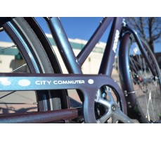 Фото рамы электровелосипеда Pedego City Commuter Steel-Blue