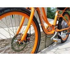 Фото колеса электровелосипеда Pedego Comfort Cruiser Orange
