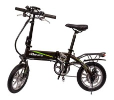"Электровелосипед xDevice xBicycle 14"" (2019) Black"