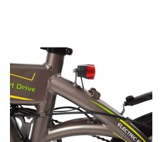"фото складной Электровелосипед xDevice xBicycle 14"" Gray"