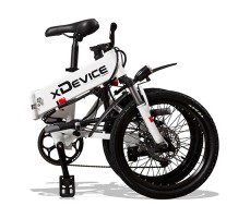 "фото складной Электровелосипед xDevice xBicycle 20"" White"