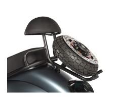 Электроскутер ZING APPLE Gray запасное колесо