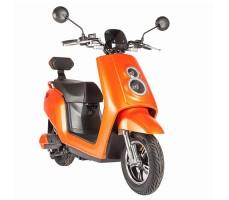 Электроскутер ZING QUICK Orange вид спереди