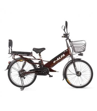 Велогибрид Eltreco e-ALFA GL | Купить, цена, отзывы