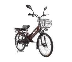 фото велогибрида Eltreco e-ALFA GL вид спереди