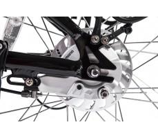 Фото дискового тормоза велогибрида Eltreco PATROL КАРДАН 24 Black