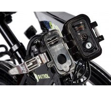 Фото замка рамы велогибрида Eltreco PATROL КАРДАН 24 Black