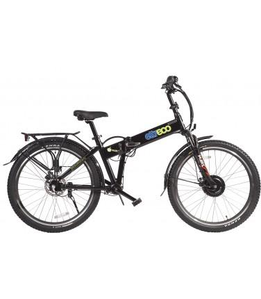 Велогибрид Eltreco PATROL КАРДАН 26 DISC матовый черный   Купить, цена, отзывы