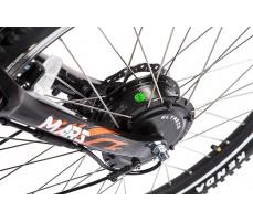 Фото  мотора велогибрида Eltreco PATROL КАРДАН 26 NEXUS 7 Black