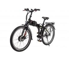 Фото велогибрида Eltreco PATROL КАРДАН 26 NEXUS 7 Black на стопоре