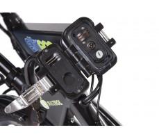 Фото замка рамы велогибрида Eltreco PATROL КАРДАН 26 Black