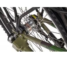 Фото колеса велогибрида Eltreco PATROL КАРДАН 26 Green