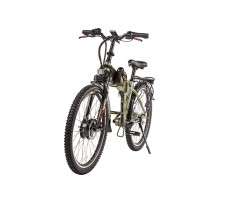 Фото велогибрида Eltreco PATROL КАРДАН 26 Green вид спереди