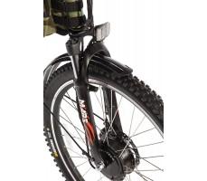 Фото колеса велогибрида Eltreco PATROL КАРДАН 26 Black