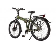 Велогибрид Eltreco PATROL КАРДАН 26 Green