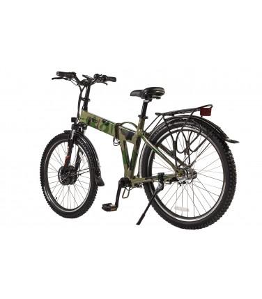Велогибрид Eltreco PATROL КАРДАН 26 зеленый | Купить, цена, отзывы