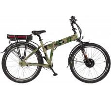 Велогибрид Eltreco PATROL КАРДАН 28 Green