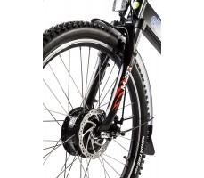 Фото вилки велогибрида Eltreco PATROL КАРДАН 28 Disc Black