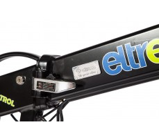 Фото замка рамы велогибрида Eltreco PATROL КАРДАН 28 Black