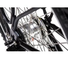 Фото дискового тормоза велогибрида Eltreco PATROL КАРДАН 28 Black