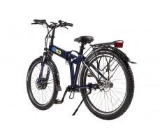 Фото велогибрида Eltreco PATROL КАРДАН 28 Blue вид сзади