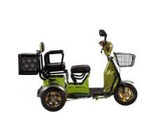 Трицикл S2 V2 с большой корзиной Green