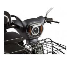 Трицикл S2 V2 с большой корзиной Gray фара, корзина