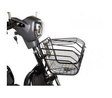 Трицикл S2 V2 с большой корзиной Gray корзина