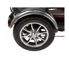 Трицикл S2 V2 с большой корзиной Gray заднее колесо