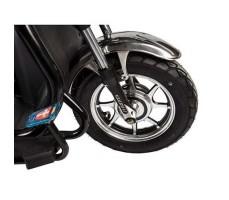 фото колесо Трицикл S2 V2 с большой корзиной Black