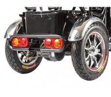 фото Трицикл S2 V2 с большой корзиной Black