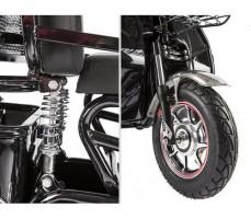 фото амортизатор Трицикл S2 V2 с большой корзиной Black