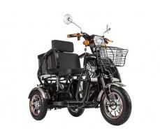 Трицикл S2 V2 с большой корзиной Black