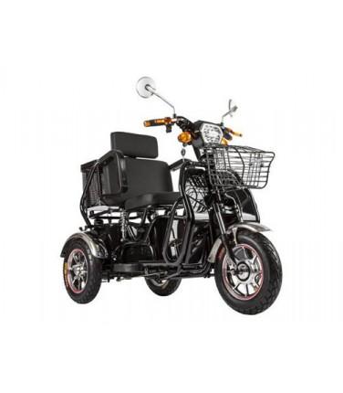 Трицикл S2 V2 с большой корзиной Black | Купить, цена, отзывы