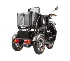 фото корзина Трицикл S2 V2 с большой корзиной Black