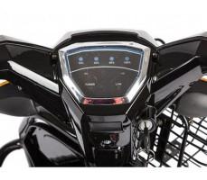 фото панель Трицикл S2 V2 с большой корзиной Black