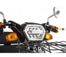 фото фара Трицикл S2 V2 с большой корзиной Black